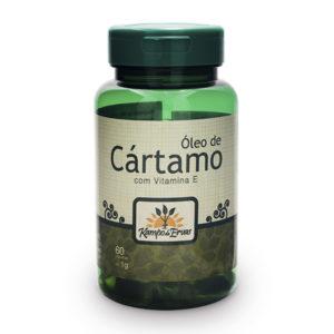 Óleo de Cártamo com 60 cápsulas de 1g