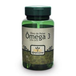 Óleo de Peixe (Ômega 3) 60 cápsulas de 1g