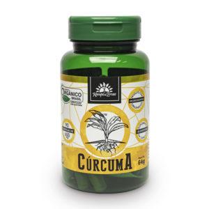 Cápsulas de Cúrcuma orgânica (90cps de 600mg)