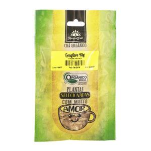 Gengibre lascas orgânico 40g