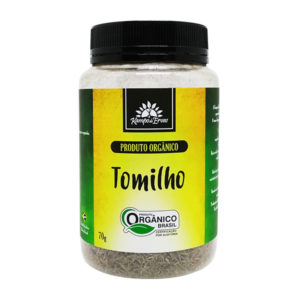 Tomilho orgânico 70g