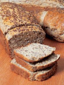 Receita de Pão Integral com Semente de Linhaça