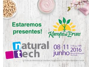 Kampo de Ervas presente na NATURALTECH 2016