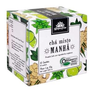 Chá Misto Manhã orgânico sachê (10 unid.)