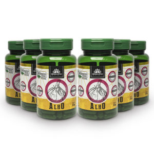 Kit Cápsulas de Alho orgânico (6 potes)