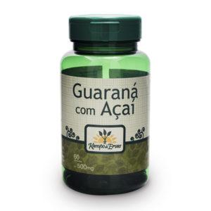 Guaraná com Açaí com 60 cápsulas de 500mg