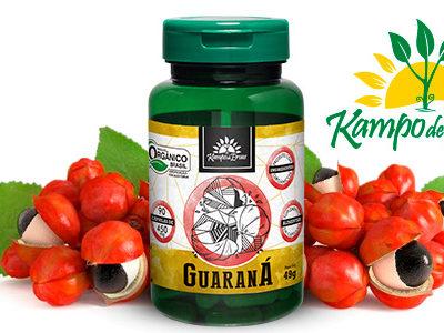 Conheça os benefícios e a força das Cápsulas de Guaraná Orgânico em Pó Kampo de Ervas