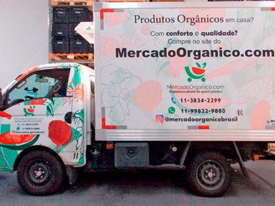 A Coragem de vender orgânicos pela internet